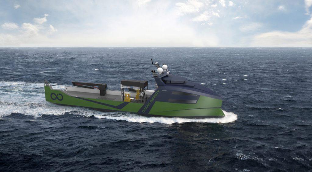 Ocean Infinity vessel render